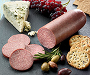 Organic Beef<br />Summer Sausage - Five 12 oz. pkgs, Beef Summer Sausage -  Jalapeno