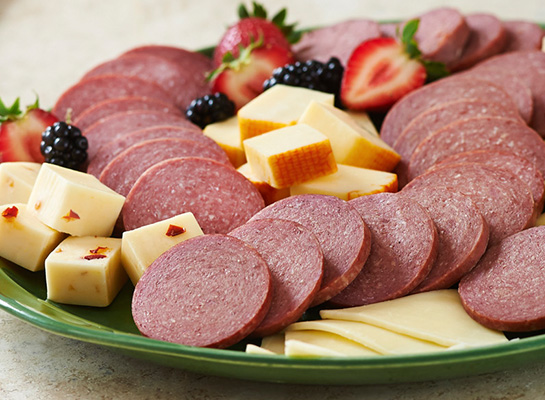 Stock up on Summer Sausage Slices