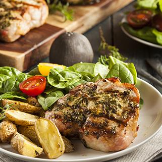 Organic Center CutBoneless Pork Chops