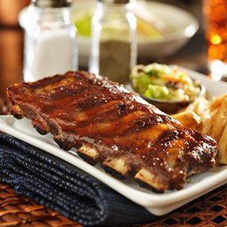 Organic Pork Back Ribs