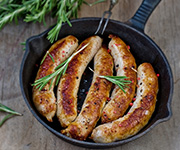 Organic Italian<br />Pork Sausage - Eight 12-oz. pkgs / 32 Italian Pork Sausages