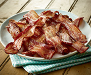 Organic Hardwood Smoked<br />Uncured Bacon