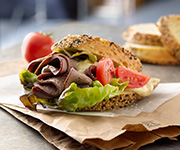 Organic Roast Beef Slices - Half Price - Twenty 5-oz. pkgs. Roast Beef Slices