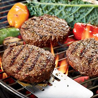 Premium Organic Steak Burger Patties