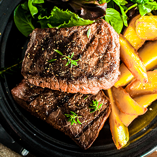 Organic Grassfed Sirloin Steak