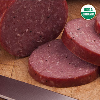 Organic BeefSummer Sausage