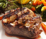 Premium Organic Sirloin Steak - Twelve 8-oz Premium Sirloin Steaks
