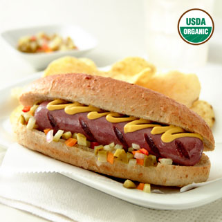 Uncured Organic Chicken Hot Dogs