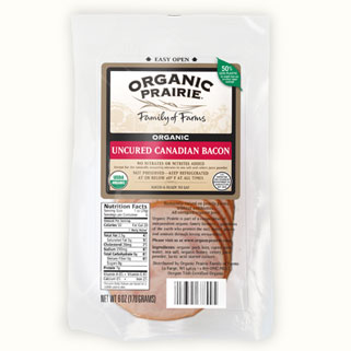 Organic Canadian Bacon Slices - Half Price