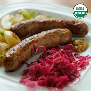 Organic Pork Bratwurst