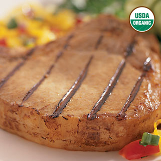 Organic Center CutBoneless Pork Chops